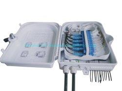 2PCS Cable Entry Ports Fiber Optic Terminal Joint Box