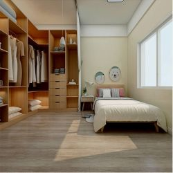 床および壁のための磁器のマットの自然な木製の一見のセラミックタイル