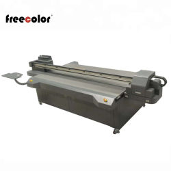 Freecolor FC-UV2513 impresora plana UV para la venta / 2,5 m x 1,3 m, 3 cabezal Epson, CMYK LC Lm barniz) Impresión en color blanco