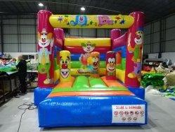 Neues Ankunfts-Thema-aufblasbares Clown-Schlag-Haus-federnd Schloss