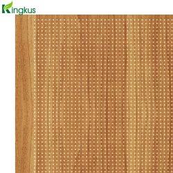 Alto padrão do painel de acústica de madeira para paredes e teto
