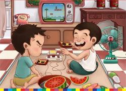 Console van het Videospelletje van de Computer van de Familie van het Controlemechanisme van de Kinderen van het spel de Draadloze