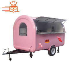 Hot Sale 2 roues fast-food Remorque mobile
