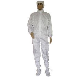 Hersteller ESD-antistatisches Kleidungcleanroom-Arbeitskleidungs-Overall-Kleid