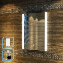 Élégant 600 x 600mm voyant lumineux à LED rétroéclairé utile en cas de capteur & de miroir de salle de bains du reniflard