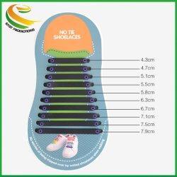Elastischer Silikon-Anker keine Gleichheit-einfachen Schuh-Spitze-Spitze-Kursleiter-Schuhe