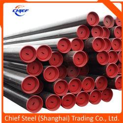 API5l1/ LSIP LSIP2 Tuyau en acier au carbone sans soudure (noir SMLS tube en acier pour le pipeline de pétrole et gaz) Gr. B X42 X52, X60, X65, X70, X80 sch40 Xs std