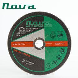Китай производитель абразивного материала из оксида алюминия Металлизированный польский режущий диск колеса для шлифовального станка
