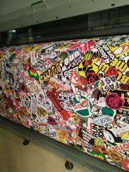 5X87FT Voiture Décoration bombe Graffiti vinyle autocollant de rouleau d'enveloppement pour voiture