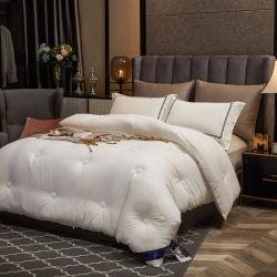 Hotel Luxury Solid Color 100% cotone copriletto letto maschile