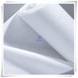 Planície branca - Rolo de feltro de poliéster não tecido