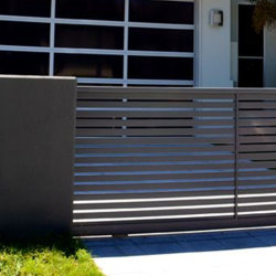 Puerta entrada Puerta corrediza de aluminio