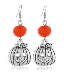 구슬 디자인 하락 귀걸이를 가진 형식 보석 Halloween 호박