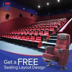 공용 홀 대학교 영화 극장 컨퍼런스 좌석 학생 패브릭 접이식 영화관 시트 극장 의자
