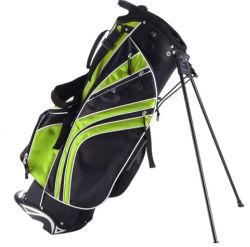 Campo de golf exclusivo Stand Bolsa con soporte para insertar el logotipo personalizado y de color