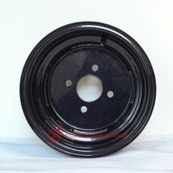 Schlussteil-Stahlfelge der Forlong Marken-10X6.00 ATV für Montage-Gummireifen-Größe 20.5X8.0-10