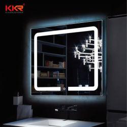 은 유리제 Defogg 목욕탕 허영 지능적인 LED 목욕 미러