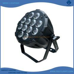 مصباح LED قوي ذو مرحلة تكافؤ 12×12 واط مع RGBWA 5in1