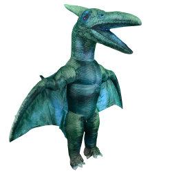 Traje inflável Halloween Natal Adultos Fancy Dinosaur Vestuário