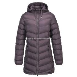 Женских мода для использования вне помещений давно Supperwarm Стеганая подкладка куртка