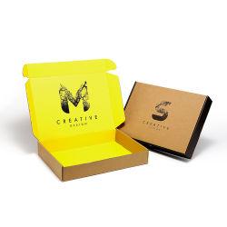 مصنع إنتاج المصنع السعر مخصص جودة ممتازة أزياء الطباعة على الوجهين صندوق ورق التغليف من الورق المقوى للملابس/القمصان/السجان