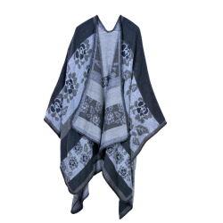 도매 2021 새로운 스타일 패션 여성용 디자이너 럭셔리 브랜드 새틴 스카프를 위한 스카프 실크 헤드 저지 Hijab Sky 캐시미어 패키지