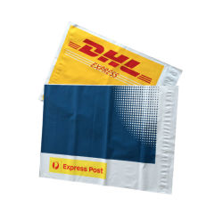 حقائب الشحن بالجملة مغلف DHL FedEx UPS لخدمات الطوارئ الطبية حزمة البلاستيك لبائعي بوليه حقائب أظرف عليها شعار مخصص يحمل الملصق الخاص
