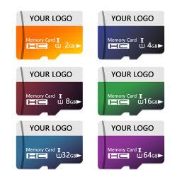 بطاقة Micro TF سعة 32 جيجابايت 64 جيجابايت 128 جيجابايت 256 جيجابايت فئة 10 32 بطاقة SD سعة 128 جيجابايت لبطاقة SD الخاصة بالهاتف/SD TF/Flash بطاقة/بطاقة ذاكرة