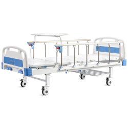 Médicos del Hospital enfermera ABS cama manual o electrónica, dos tres cinco funciones cama plegable con armario de cabecera y el colchón y el Stand de infusión