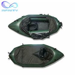 De opblaasbare Rivier Packraft van het Water van de Boot van het Vlot van het Pak van de Spelen van de Sport van het Water van het Vlot van de Visserij Opblaasbare voor Meer