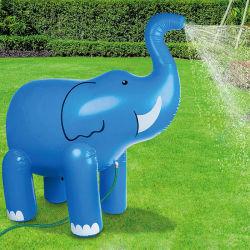 Belüftung-Sommer-Wasser-Spiel-Geräten-aufblasbares Tierspritzen-nette Elefant-Sprenger-Spielwaren für Kinder