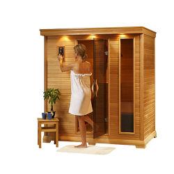 Modernes Nassdampf-Bad-Haus-im Freiendampf-Dusche-Sauna-Raum