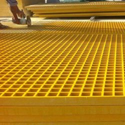 FRPのファイバーのReinfocredのガラスプラスチック床の格子