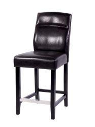 [ألي ببا] بائع جملة [جنوين لثر] تصميم أسود مطبخ أثر قديم [بو] قضيب كرسي تثبيت
