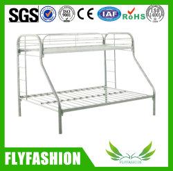 寮の鋼鉄は二段ベッドの子供の寝室の家具の金属の中二階のダブル・ベッドをからかう