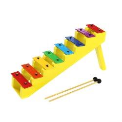 Migliore Glockenspiel di vendita delle note dello strumento musicale 8 di percussione per formazione di Musical dei bambini