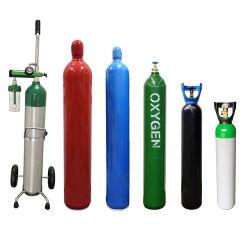 نقطة معبأة En ISO9809 أكسجين من الفولاذ غير الملحي/النيتروجين/ثاني أكسيد الكربون/أرجون/هيدروجين غاز الأسطوانة/الخزان/سعر زجاجة للطب الصناعي