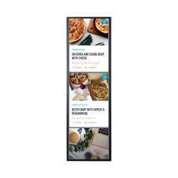 Minorista inteligente de 37 pulgadas de montaje en rack supermercados publicidad remoto tramo de la pantalla digital versátil