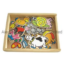 حيوانات المزرعة المغناطيسية الخشبية (80639)