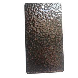 Чистый полиэстер старинной меди и серебра и золота/латуни/бронзовый молоток текстуры/веяние порошковое покрытие