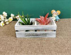 تصميم أثري كلاسيكي خمر خشبي خمر من الزهر مع زلافة خشبية للحديقة