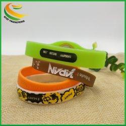 Ausgleichwristband-Gummisilikon-laufendes Handgelenk-Silikon-Armband-Band