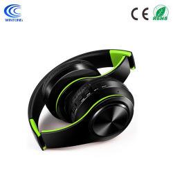 Meilleure vente de musique stéréo sans fil CD hi-fi de qualité sonore du casque Bluetooth Casque bandeau