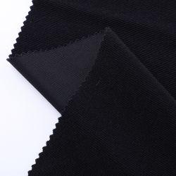 Cómodo y cálido tejido banda pana