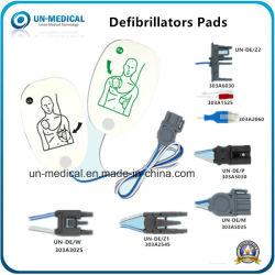 Elettrodo riutilizzabile ed adesivo di /Defibrillation del rilievo dell'elettrodo certificato Ce dentale