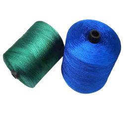 Vielzahl-Farben-Stickerei des Polyester-Plastikverlegt grosse Kegel-600d/3 Kleid-Gewinde für industrielle Nähmaschine