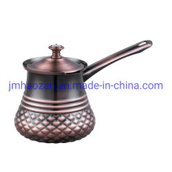 Kaffee-u. Tee-Sets Drinkware Typ-und Metallmaterieller Edelstahl-Kaffee-Wärmer-Milch-Potenziometer-Kaffee-kochender Potenziometer