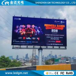 En el exterior impermeable completo CD 8000 de la pantalla LED (P10 Publicidad Visual Billboard LED pantalla).