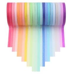 Nouveau design de multiples la poudre de paillettes de couleur sombre du ruban de masquage