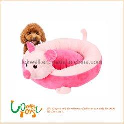En forma de animales de peluche mascota de la casa de perros y gatos cama